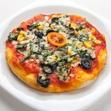 Mini pizza vegetal