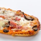 Pan pizza Bacon Portobello