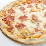 Pizza fina tropical
