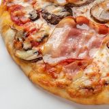 Pizza Bacon Portobello